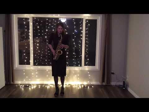 Une Vie D'amour - Charlez Aznavour (saxophone Cover)    Вечная любовь