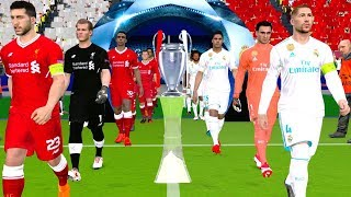 UEFA Champions League 2018 Final - Liverpool vs Real Madrid Gameplay