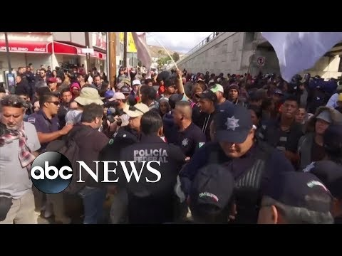 Tijuana mayor declares humanitarian crisis as 5,000 migrants enter town