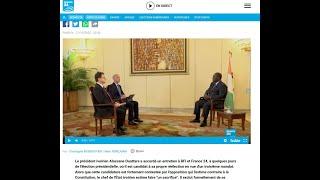 Alassane Dramane Ouattara dénudé sur RFI et France 24: un dictateur aux abois en Côte d'Ivoire