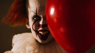 Pennywise (Bill Skarsgård) Inspired Clown Halloween Makeup Tutorial | 2018