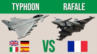 Eurofighter Typhoon vs Dassault Rafale - Which would win?
