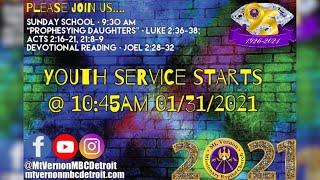 "Sunday Youth Service - ""Please Believe"" - 01/31/2021"