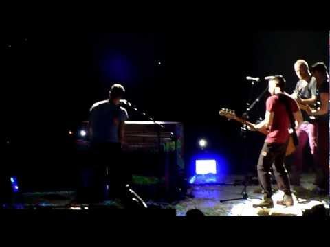 Coldplay Live Warning Sign @ Boston TD Garden (29/07/2012)