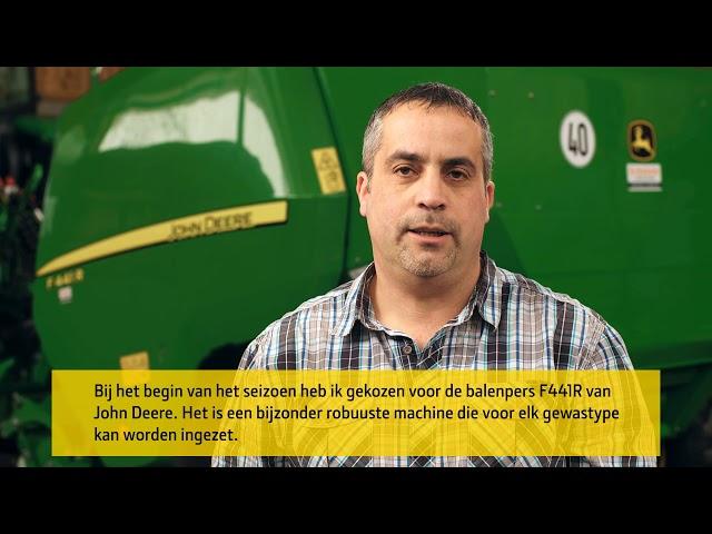 John Deere | Klantervaring F441R Balenpers