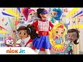 'Girl Power' 🎶 w/ Dora, Nella, Sunny Day, Shimmer and Shine & More ✨ | Nick Jr. Music