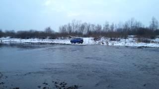 Ford Maverick Raba off road river.mp4