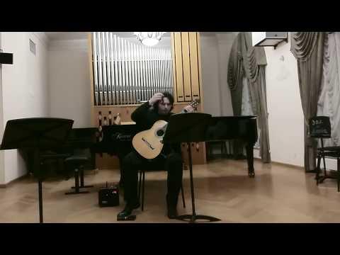 "Vladimir Gapontsev Plays ""Wounds"" By Gene Pritsker - Russian Premiere."