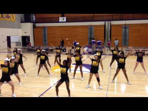 BHS Cheer Dance- Beyonce 711- 1/7/15