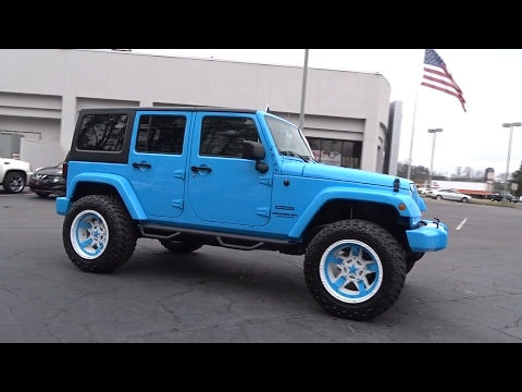 2017 Jeep Wrangler Unlimited Johns Creek, Buford, Athens, Duluth, Gainesville, GA J5937