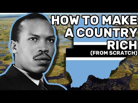Botswana: How to Make a Country Rich (From Scratch)