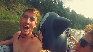 SCARY RAFTING ADVENTURE!