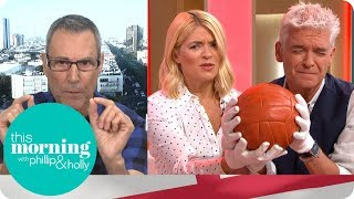 Uri Geller Uses His Psychic Powers to Help England Win Against Croatia   This Morning