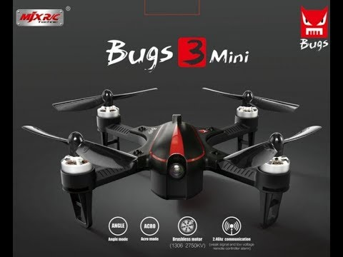 mjx bugs 3 mini  Half Chrome: MJX Shrinks the Bugs 3. Check out the Bugs 3 Mini - YouTube