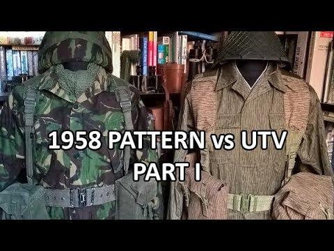 British 1958 Pattern Vs DDR UTV Part I - Kit Comparison