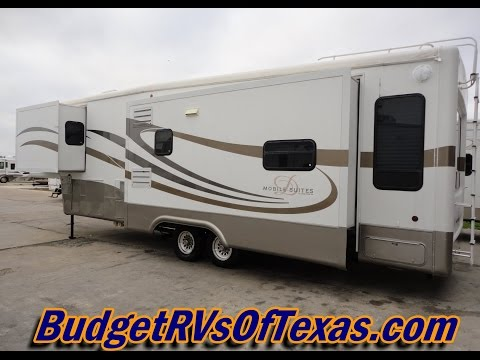 Stunning 3 Slide 36ft Luxury 5th Wheel Mobil Suites By