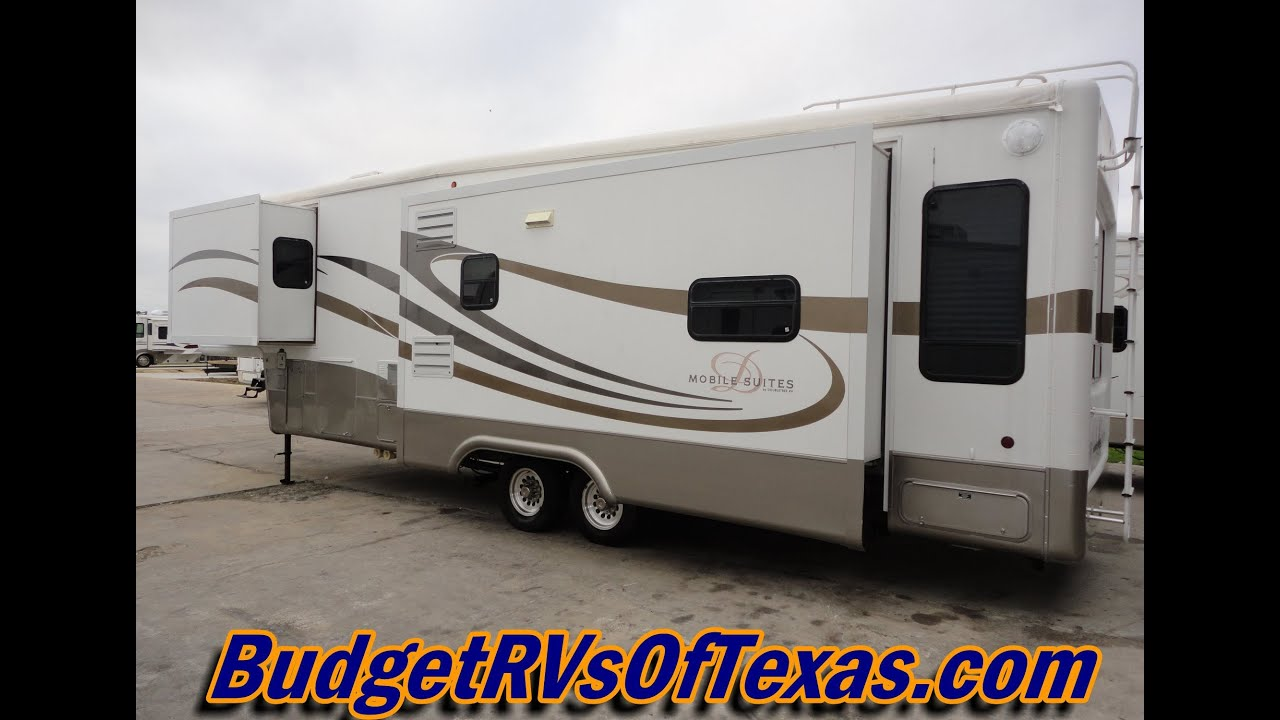 Mobile Suites Rv >> Stunning 3 Slide 36ft Luxury 5th Wheel Mobil Suites By Double Tree Rv 2004 Mobil Suits 36tk3