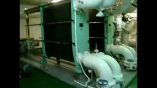 engine room tanker ship