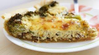 Рецепт! Киш с брокколи и сыром | Очень ВКУСНО!! | #69