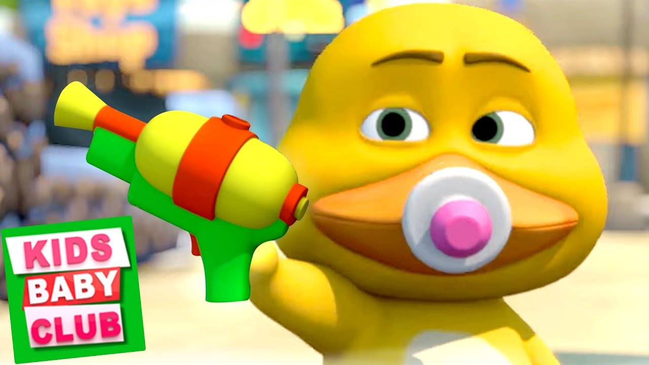 Gob And Friends - Water Gun | Funny Animated Videos | Cartoons for Babies - Kids Baby Club