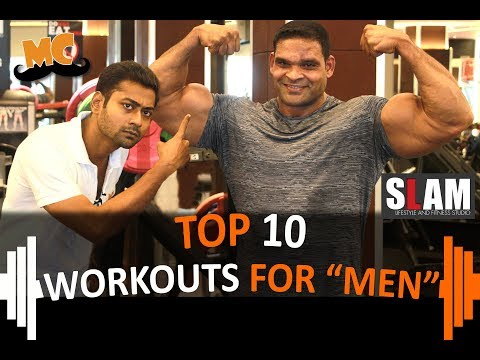 "TOP 10 WORKOUTS FOR""MEN"" 