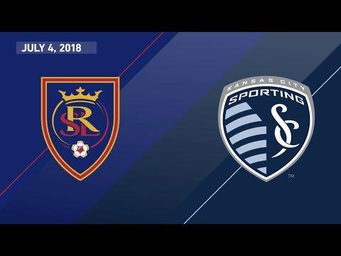 HIGHLIGHTS: Real Salt Lake vs. Sporting Kansas City | July 4, 2018