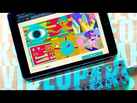 New OP-Z Videopaks by Tony Grisey