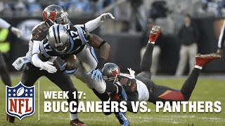 Devin Funchess Snags Tipped Pass From Cam Newton For Big Gain! | Buccaneers vs. Panthers | NFL
