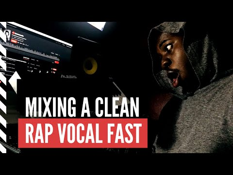 Mixing A Clean Rap Vocal | Mixing Session with A Rapper
