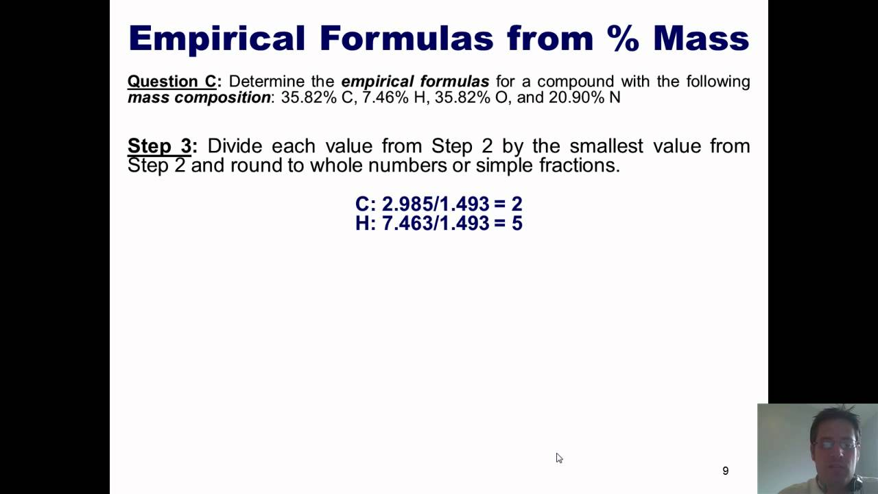 Chemistry formulas search