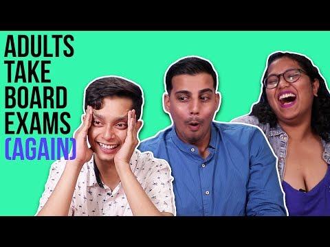 Adults Take Their Board Exams (Again)