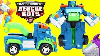 Transformer Rescue Bots Hoist The Tow-Bot has a big Adventure with Blades!