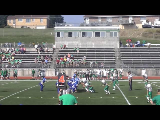 Northwest Jr lions vs Blair Oaks 4th grade 2016