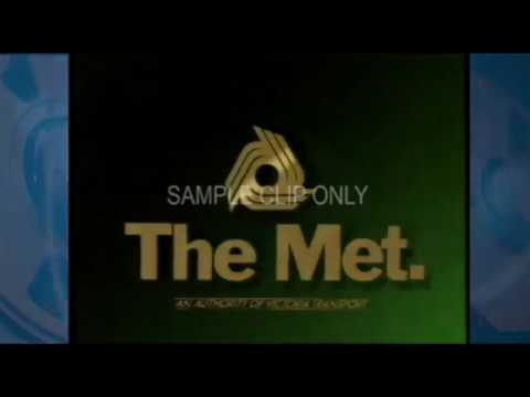 GET THE MET (CLASSIC MELBOURNE TV COMMERCIAL) 1988