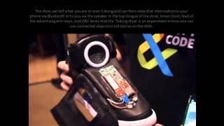 Google Talking Shoe [HD]