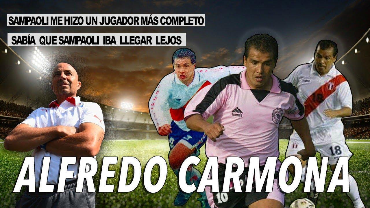 """Carmona:""""No tenía duda que Sampaoli iba a llegar muy lejos, es uno de los mejores!"""""""