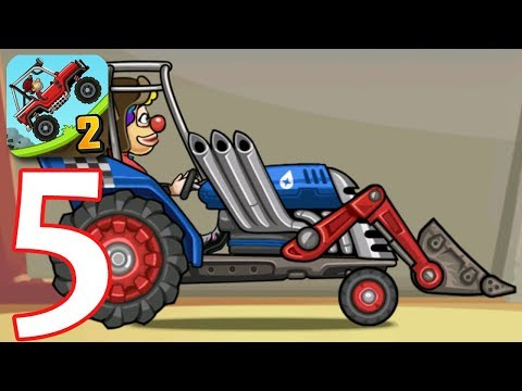 Hill Climb Racing 2 | Gameplay Walkthrough Part 5 | Tractor Level 999 (Game iOS/Android)