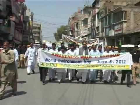 World Environment day  was celebrated in Attock .