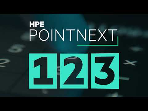 3 Step Approach to Artificial Intelligence, Data and Analytics from HPE Pointnext