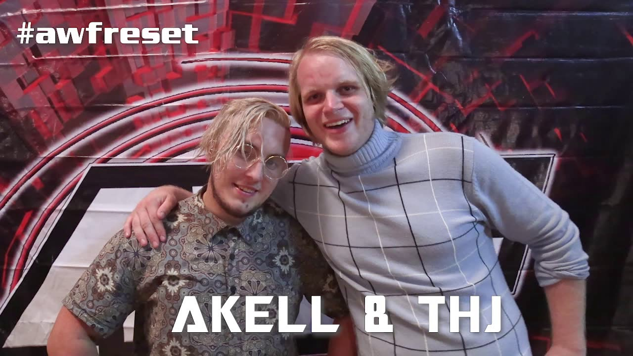Akell & Tobias Hemingsworth Jr Debut and Are Ready for TATS at AWF Reset
