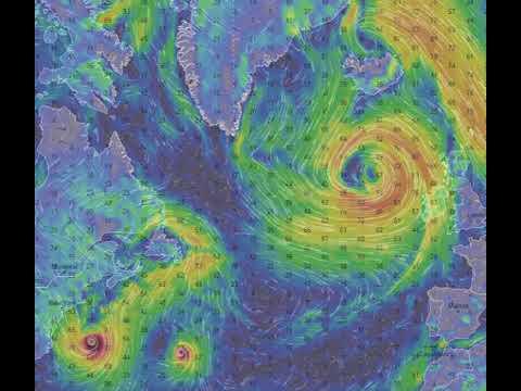 Download Ďalší postup hurikánov Lee a Maria