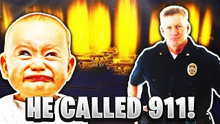 Crazy Scammer Calls 911 On Me! *MUST WATCH* (Scammer Gets Scammed) Fortnite Save The World