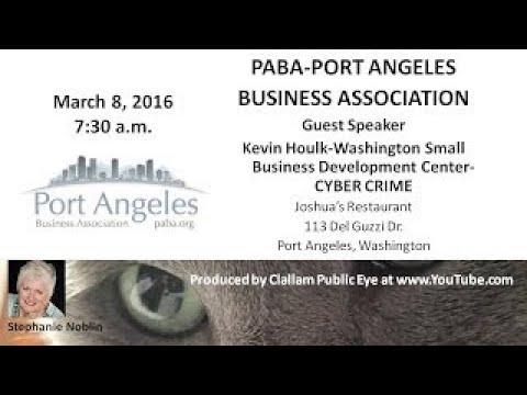 2017 03 08 Kevin Houlk Washington Small Business Development Center CYBER CRIME