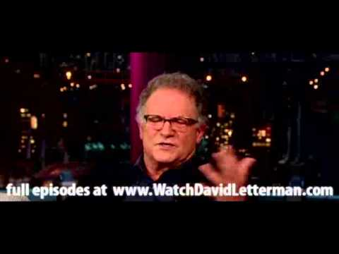 Albert Brooks in Late  with David Letterman December 5, 2012