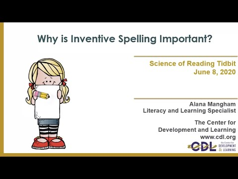Why is Inventive Spelling Important?
