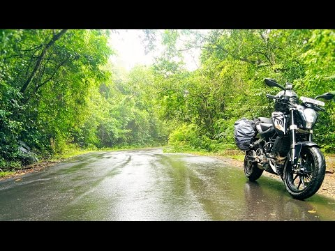 GoPro : Bangalore to Mangalore bike ride via Shringeri Kudremukh Ghat | KTM Duke 200