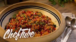How To Make Bulgur Salad - Recipe In Description