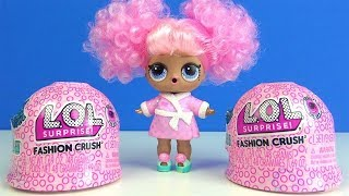 LOL Surprise Fashion Crush glibberige LOL Überraschungen Mode Kleidung extrem rare Puppe mit Perücke
