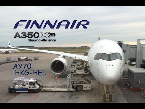 Finnair A350   AY70   Hong Kong - Helsinki   Economy