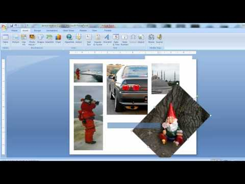 PowerPoint as a creative visual editor